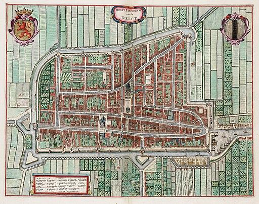 Delft - Delfi Batavorum vernacule Delft (1649)