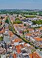 Delft Blick von der Nieuwe Kerk auf die Grachten 3.jpg
