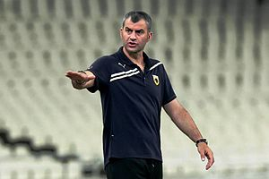 Traianos Dellas - Dellas as a coach of AEK Athens