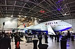 Delta 747 Farewell tour event at MSP (38475383864).jpg