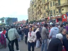 File:Demonstration in Tahrir Square Against Mubarak - 30Jan2011.webm