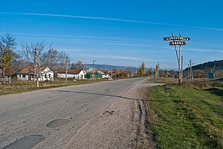 Denisovka (Simferopol district) main street.jpg