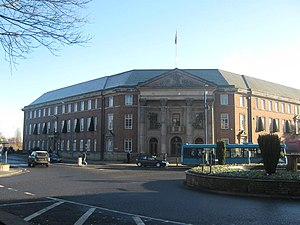 Derby City Council - Image: Derby Council House, Derwent Street Coropation Street, Derby geograph.org.uk 1706009