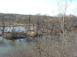 Des Plaines River - Des Plaines River near Lockport, IL