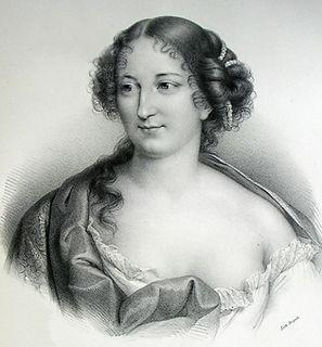 Antoinette du Ligier de la Garde Deshoulières French writer