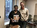 Desmond Tutu's daughter Thandeka Tutu-Gxashe with Real Leaders editor, Grant Schreiber in New York.jpg