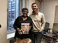 Desmond Tutu's daughter Thandeka Tutu-Gxashe with Real Leaders editor, Grant Schreiber in New York.jpg