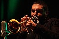 Deutsches Jazzfestival 2013 - HR BigBand - Ibrahim Maalouf - 02.JPG