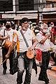 Devotees playing newari instruments.jpg
