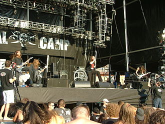 Dew-Scented - Dew-Scented at Metalcamp in 2007
