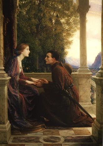 Leighton House Museum - The End of the Quest (1921) by Frank Bernard Dicksee.