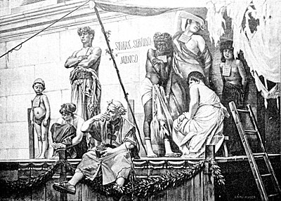 Römischer Sklavenmarkt – Wikisource
