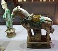 Dinastia ming, corteo funerario in ceramica sancai, 1368-1644 ca. 06.JPG