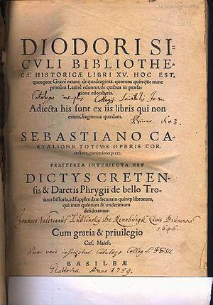 Diodoro Sículo