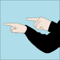 Dive hand signal Lead and follow.png