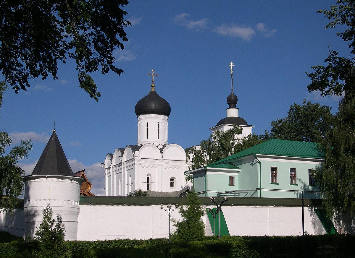Борисоглебский монастырь Дмитров Википедия