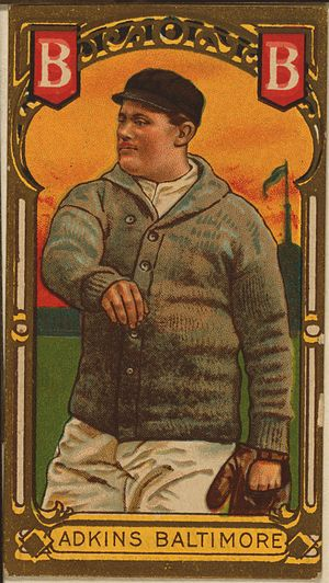 Doc Adkins - Doc Adkins baseball card