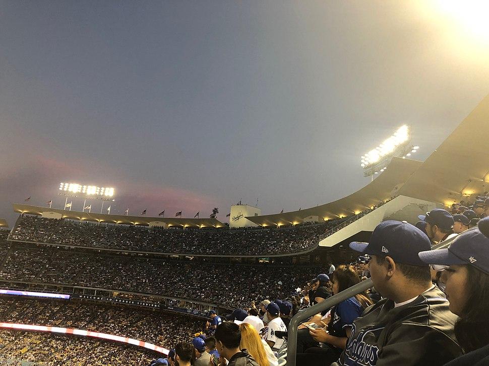 Dodger Stadium Upper Seating