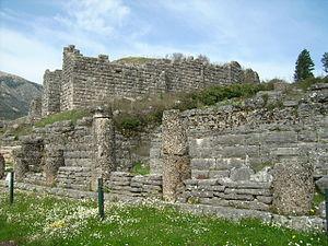 Dodona - View of the bouleuterion in Dodona
