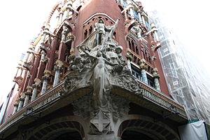Palau de la Música Catalana Façade