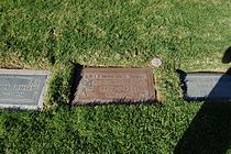 Dominique Dunne grave at Westwood Village Memorial Park Cemetery in Brentwood, California.JPG