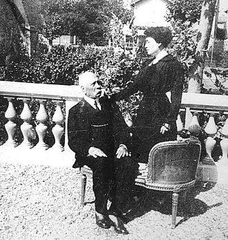 Carmen Romero Rubio - Image: Don Porfirio y Carmelita en Paris