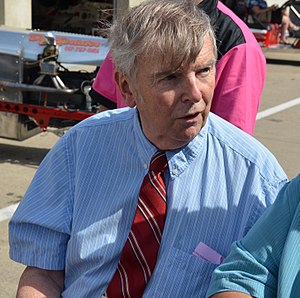 Donald Davidson (historian) - Donald Davidson at the Indianapolis Motor Speedway in 2016.
