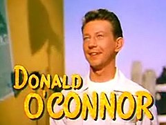 "Donald O'Connor w ""I Love Melvin"""