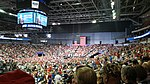 The Trump rally in Evansville
