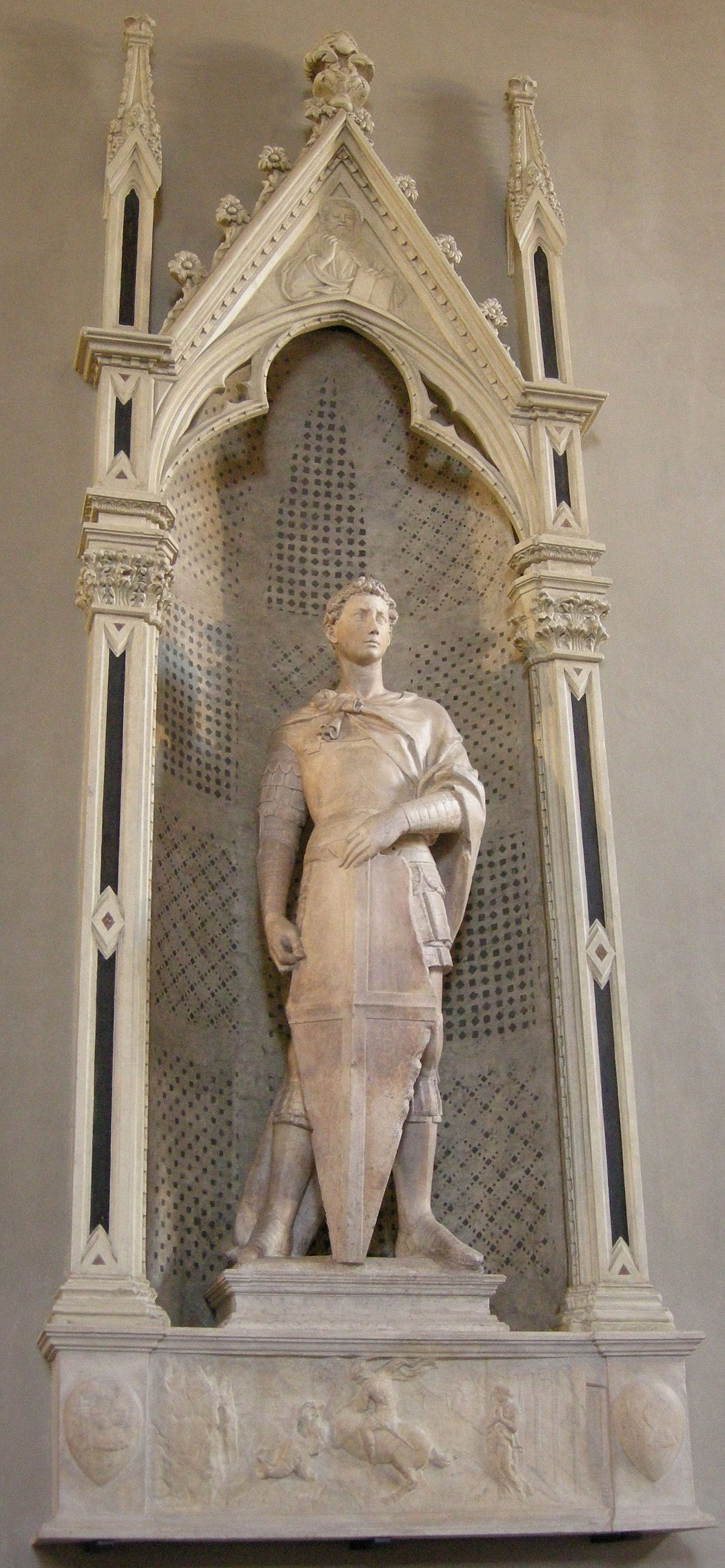 Statue of St George by Donatello
