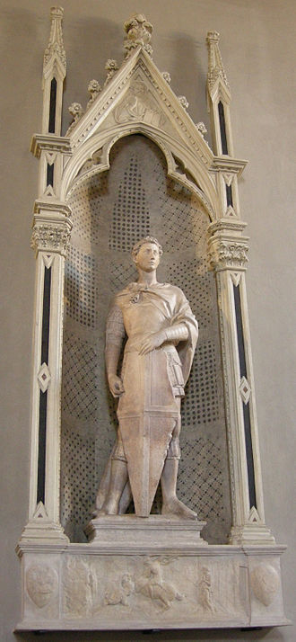 Saint George (Donatello) - Image: Donatello, san giorgio 01