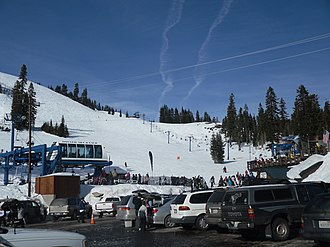 Donner Ski Ranch - Image: Donner Ski Ranch 2