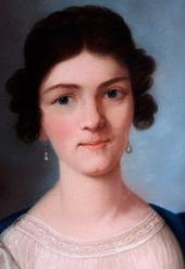 Amalie Sebald, Pastell von Dora Stock (Ausschnitt) (Quelle: Wikimedia)