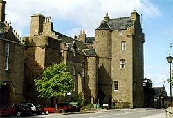 Dornoch Castle. Foto: Tom Pennington