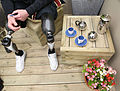 Double Amputee Soldier with Prosthetic Limbs at the Chelsea Flower Show MOD 45157831.jpg