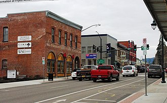 Forest Grove, Oregon - Pacific Avenue in downtown Forest Grove