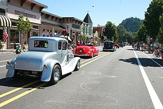 Troutdale, Oregon - Downtown Troutdale during SummerFest (2015)