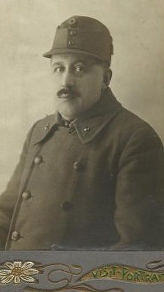 Alexander Just - Alexander Just as a soldier during World War I