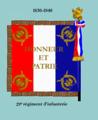Drap 29e régiment d'infanterie 1830 rev.png