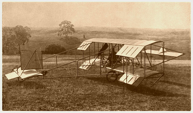 Duigan pusher biplane