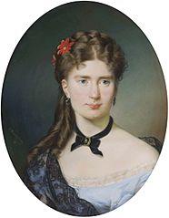Portret Julii z Bergsonów Lesser-Blatteisowej