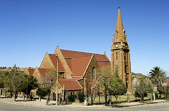 Winburg - Dutch Reformed Church, Winburg