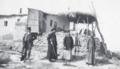 Dutch priest Nicolaas van der Vliet on a hunting excursion near Jericho 1916-02-12.png