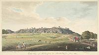 E. view of the Fort at Kalinjar. May 1814.jpg