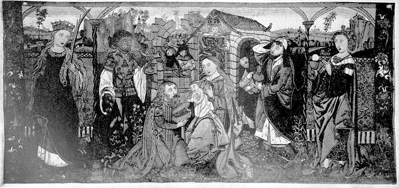EB1911 Tapestry - antependium - Adoration of the Magi.jpg