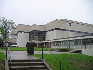 Williams Arena at Minges Coliseum - Image: ECU Minges Coliseum 1