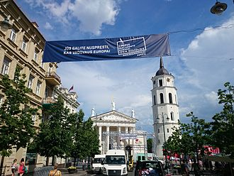2014 European Parliament election in Lithuania - Image: EP rinkimai 2014
