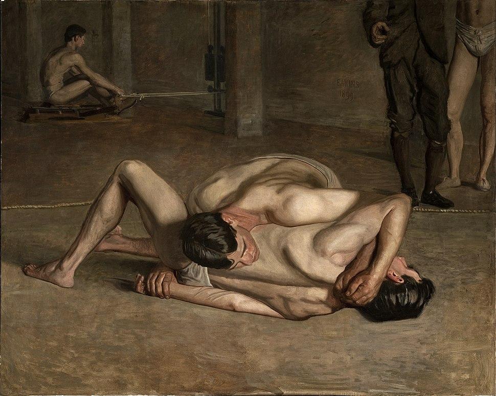 Eakins, Thomas - Wrestlers 1899