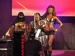 """Trenesha Biggers - """"The Kongtourage"""" in TNA"""