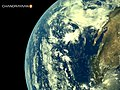 Earth's picture shot from from Chandrayaan 2 on-board LI4 Camera - 4.jpg